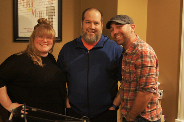 "Ashley Ostendorf, aka ""The Cinemaiden"", Brad Hargis and Justin Dunn are the voices behind The Cinema Guys podcast."