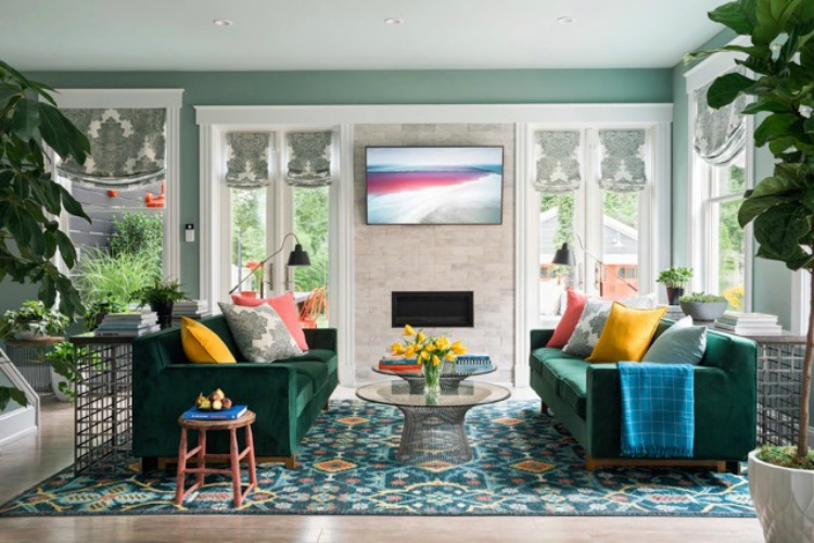 HGTV's Urban Oasis 2018 completely overhauled this century-old Dutch Colonial home in Oakley.
