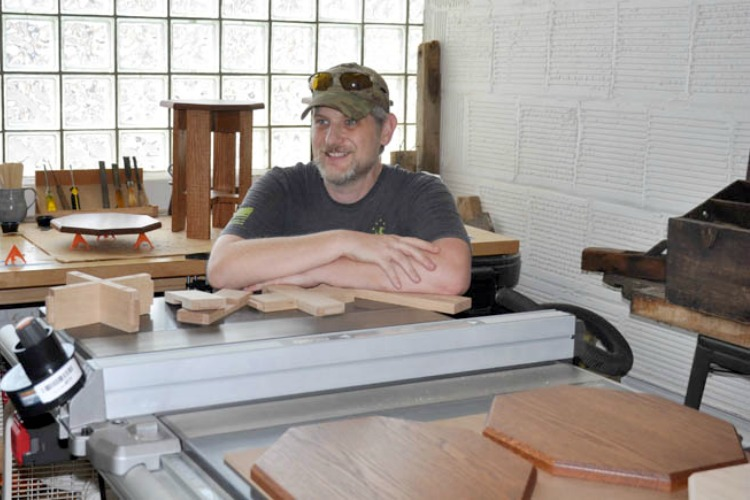 Brian Grossman of Cincinnati Craftworks