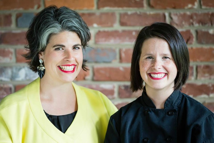 "Sisters Kelly Thrush and Caitlin Steininger started the popular ""Cooking With Caitlin"" website."