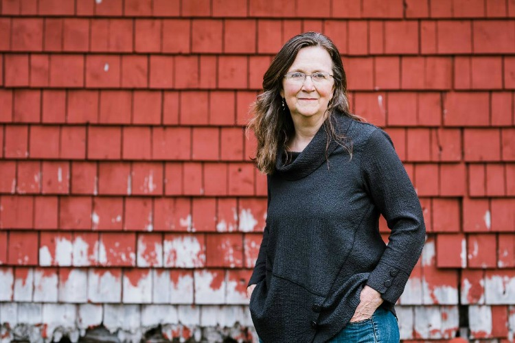 Eizabeth Garber, author of Implosion: Memoir of an Architect's Daughter