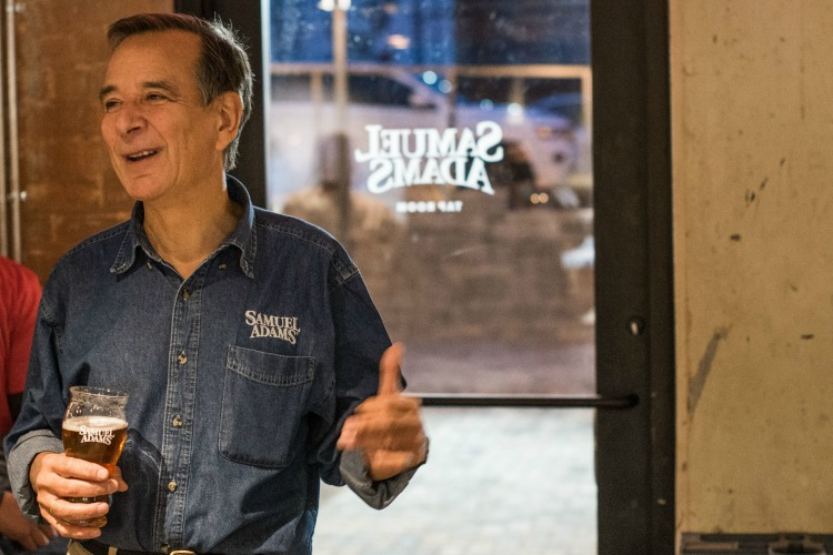 Jim Koch, a Cincinnati native, founded the Boston Beer Co.