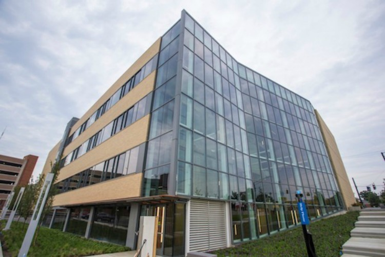 The University of Cincinnati's 1819 Innovation Hub will house Kroger's new IT lab.