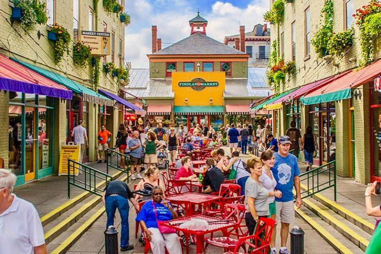 Upshift connects employees with local businesses, like Findlay Market.