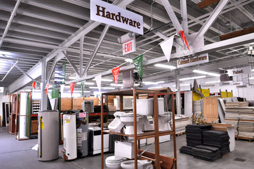 Hardware Building Material : Building materials re use company value opens up