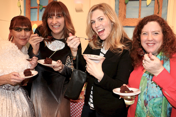 Guests enjoy dishes at last year's Art of Food event.