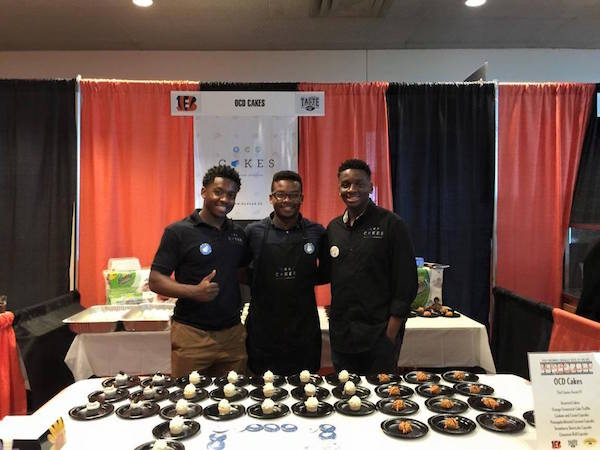 James Avant of OCD Cakes won $15,000 at The Big Pitch.