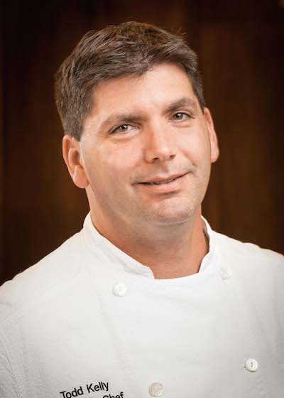 The executive chef of Orchids at Palm Court, Todd Kelly, was featured on the CBS Morning Show Oct. 7.