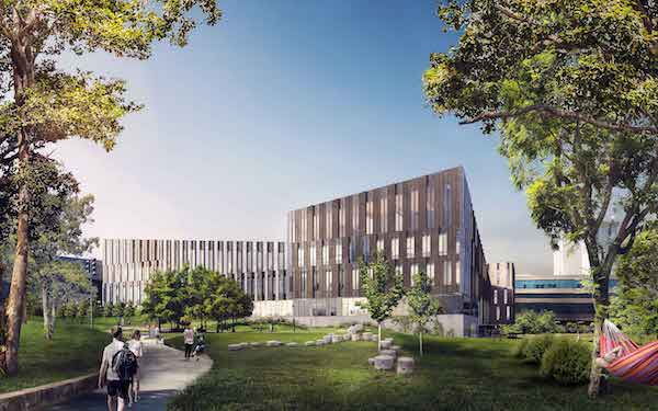 A rendering of UC's new Lindner College of Business.