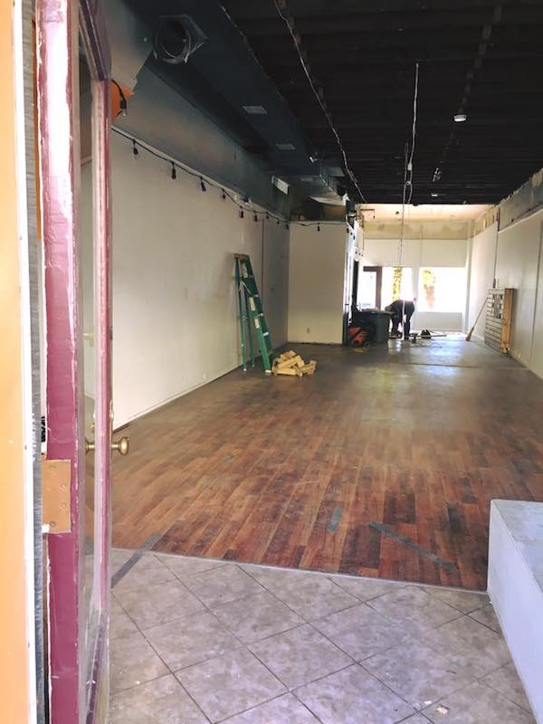 The interior of 33 W. Pike St., where this year's Make Covington Pop! retailers will be housed.