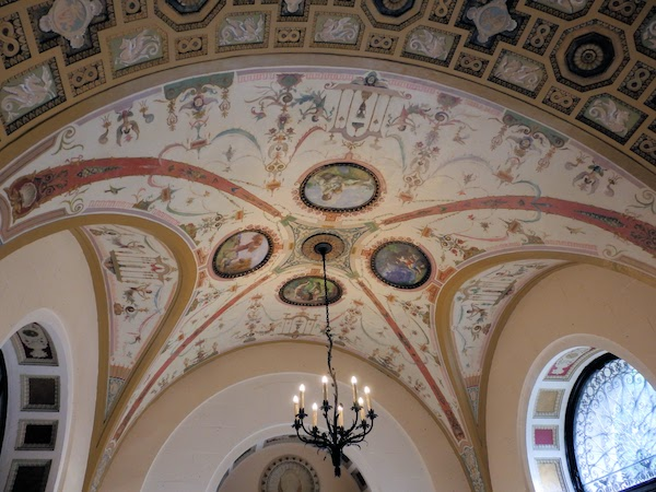 The restoration of the ceiling mural in the Belvedere Lobby was recognized by the CPA.