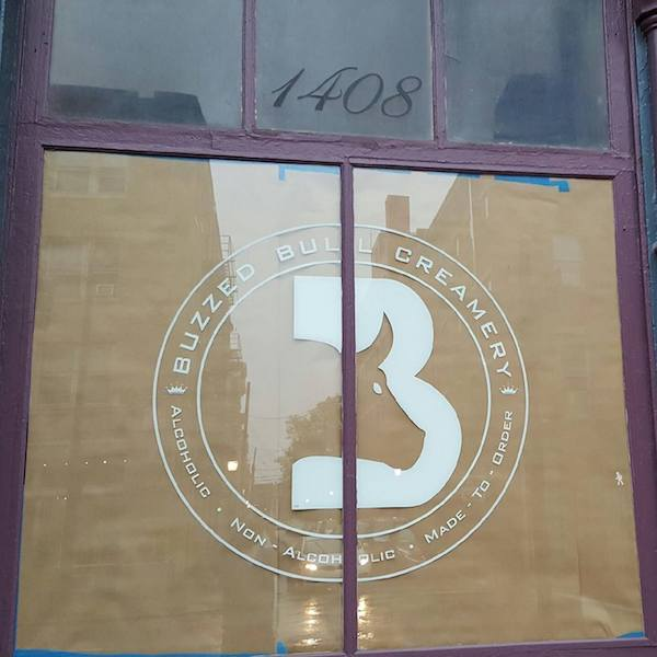 Buzzed Bull Creamery's storefront is located at 1408 Main St. in Over-the-Rhine.