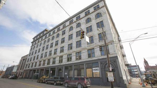 The Strietmann Building faces a $12 million renovation that will include office space and retail.