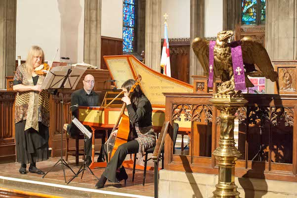 Annalisa Pappano's Catacoustic Consort performs at Church of the Advent in Walnut Hills.