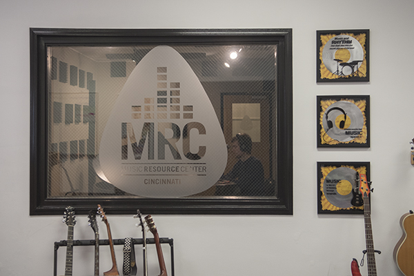 The nonprofit Music Resource Center features a recording studio and radio station.