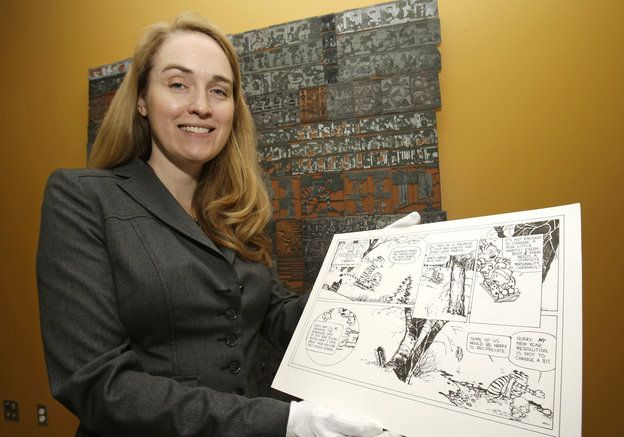 March 29: Jenny Robb, Curator of Billy Ireland Cartoon Library & Museum