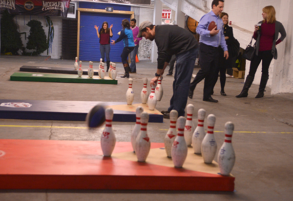 Fowling fun and games at Moerlein Malt House
