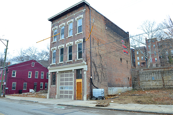 2104 Central Ave. is being renovated into two living spaces