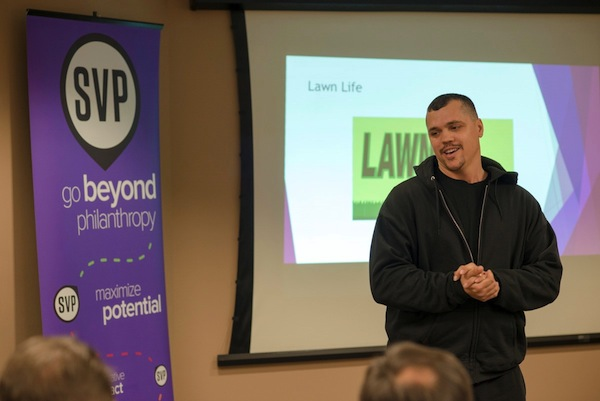 Tim Arnold, founder of LawnLife