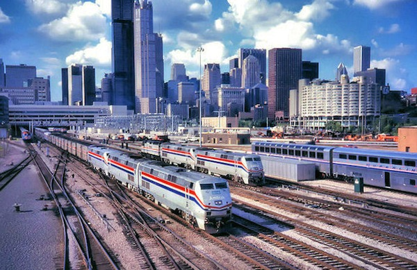 Could Cincinnati connect to a rail hub in Chicago?