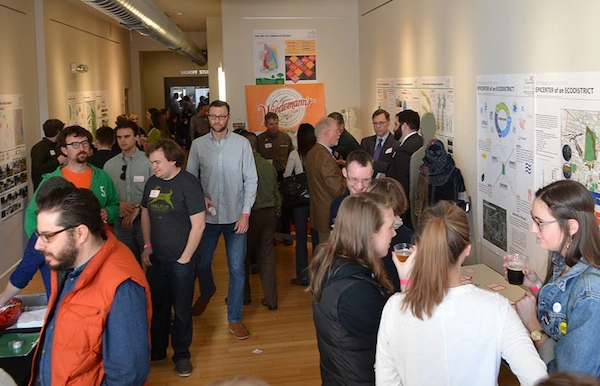 The March 11 craft beer panel included sampling and mingling