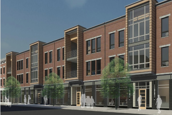 Phase 1 of this 3CDC development features new construction along Race Street in OTR
