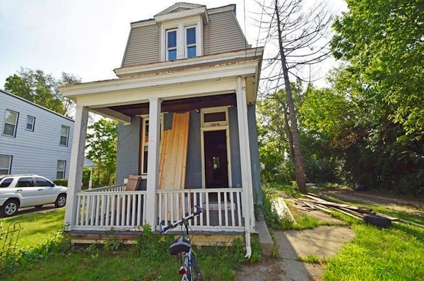 Lakeman Street home being rehabbed