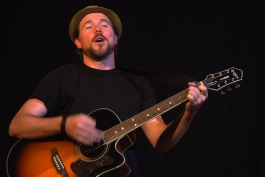 Paul Strickland performs at the 2013 Cincinnati Fringe Festival