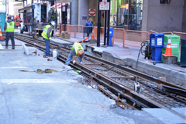 "Streetcar opponents promised to ""move on"" after the project restarted, but they can't seem to"