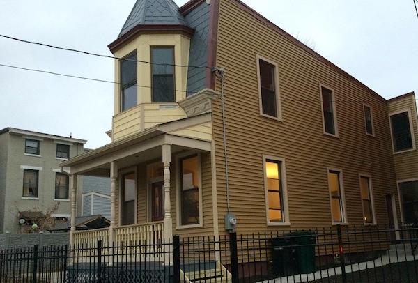 One of 52 Camp Washington homes redeveloped by the community board
