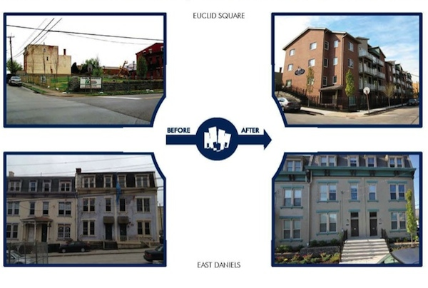 Examples of Uptown Properties redevelopment work around Short Vine