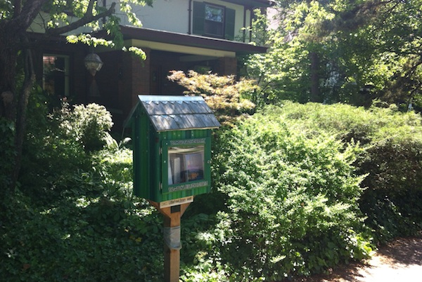 Randy Smith's Little Free Library in Clifton