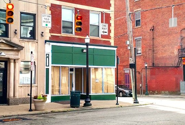 Storefront at 1300 Main St., future home of Goods on Main