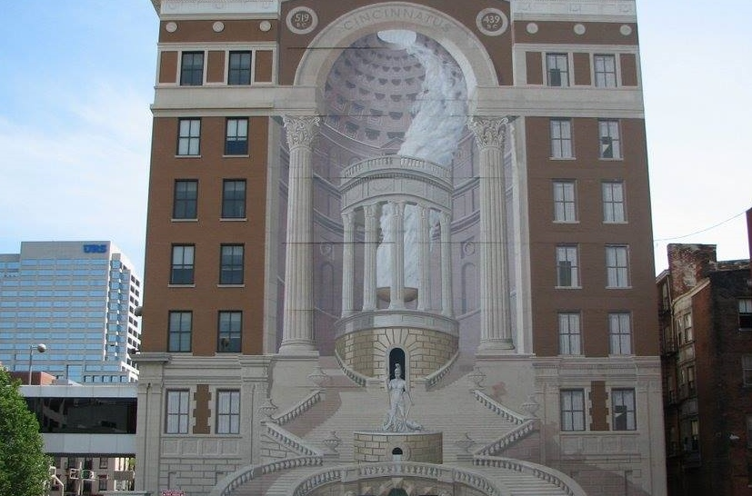 ArtWorks will restore the Cincinnatus mural on Central Parkway this summer