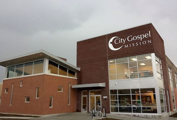 City Gospel Mission's new facility opened in Queensgate in April