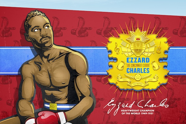 Snell's Ezzard Charles mural will be painted by ArtWorks this summer