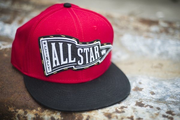 Snell has helped design All Star Game snapback hats