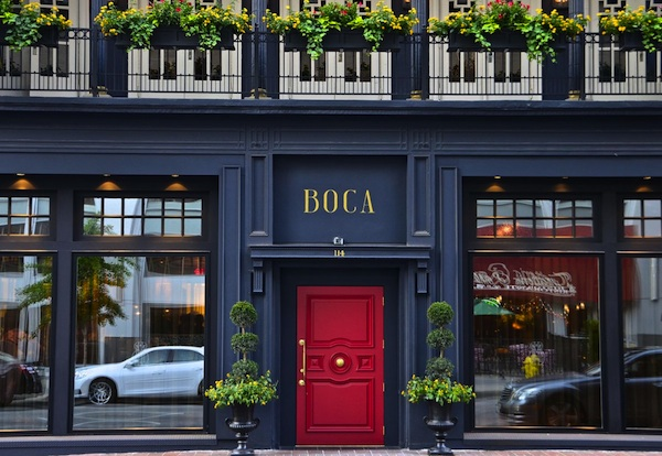 Boca is in the space once occupied by the beloved Maisonette