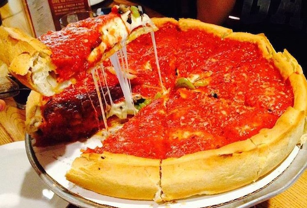 Giordano 39 S Specializes In Chicago Style Deep Dish Pizza
