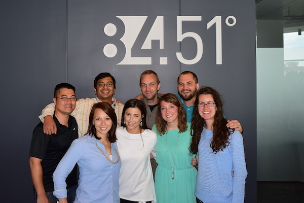 Employees of 84.51° raised $31,000 for eight local nonprofits