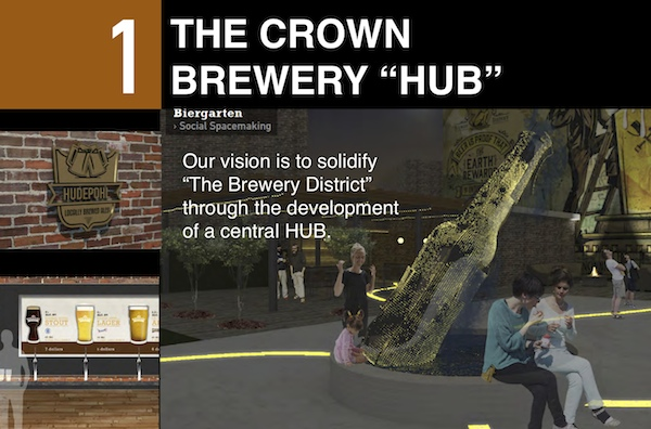One DAAP team's vision for the Cincinnati Brewery District