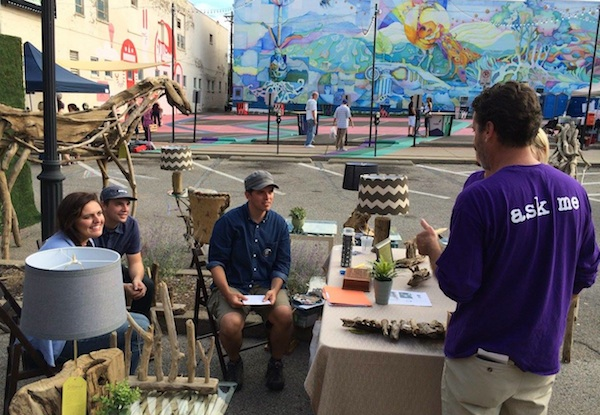 Art Off Pike is held around the Madlot area of downtown Covington
