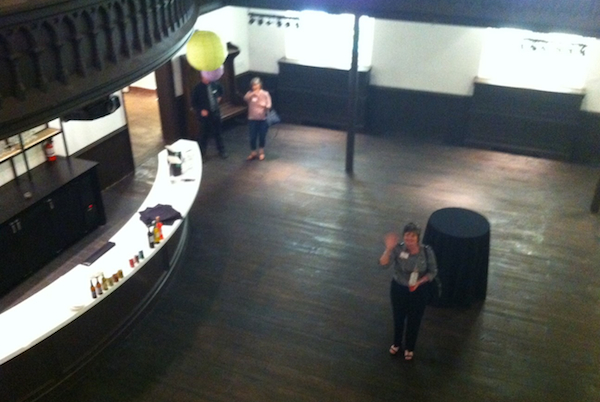 ReSource's Martha Steier gets a sneak peek at the new Transept events space