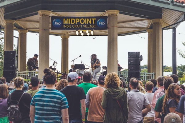 MidPoint: Free performance by Jr. Jr. kicked off the Indie Craft Village