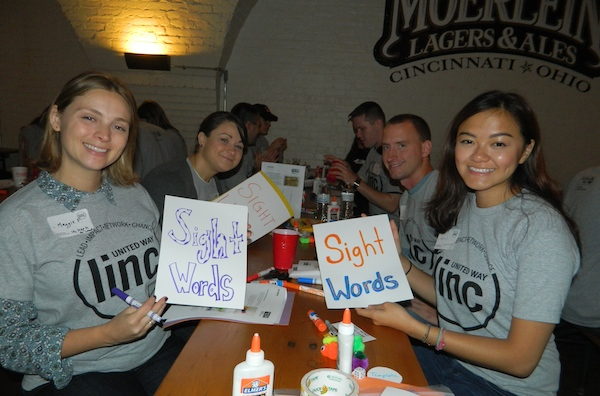 Organizing LINC events for young professionals has helped broaden the giving base during the 2015 United Way campaign