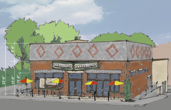 Streetside Brewery will open in 2016 on the former site of East End Cafe