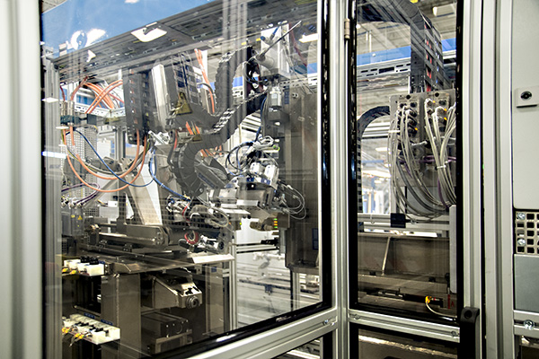 Inside the modern Robert Bosch Automotive Steering plant in Florence