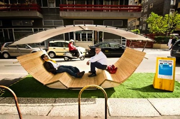 Applications are being taken for Covington parklet designs