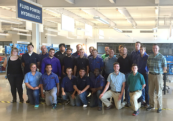 Local students got a chance to see inside the Robert Bosch Automotive plant Oct. 14