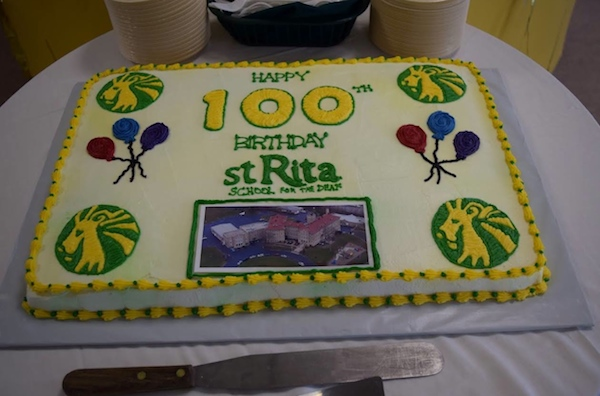 St. Rita School for the Deaf is celebrating its 100th birthday